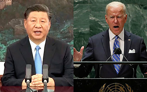China vs. USA: See the contrasts of Presidents Xi Jinping and Joe Biden's speeches at the UN