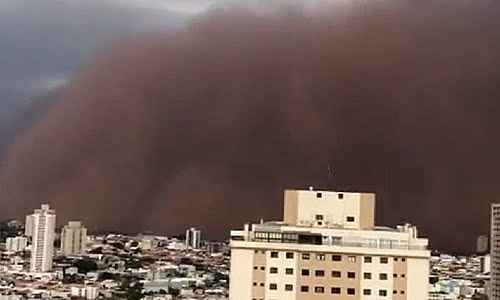 Dust cloud: understand the phenomenon that hit part of the states of SP and MG