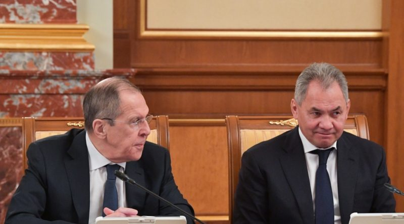 Lavrov, Shoigu, Protsenko and Shmeleva, who headed the list of United Russia, do not plan to move to the State Duma after the elections - RBK