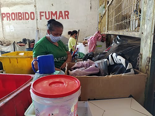 Recyclable waste pickers feel the pandemic's impact on PE production and pockets