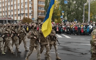 A military parade was held in the Luhansk region for the first time in 30 years
