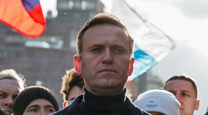Alexey Navalny is one of the three contenders for the Sakharov Prize