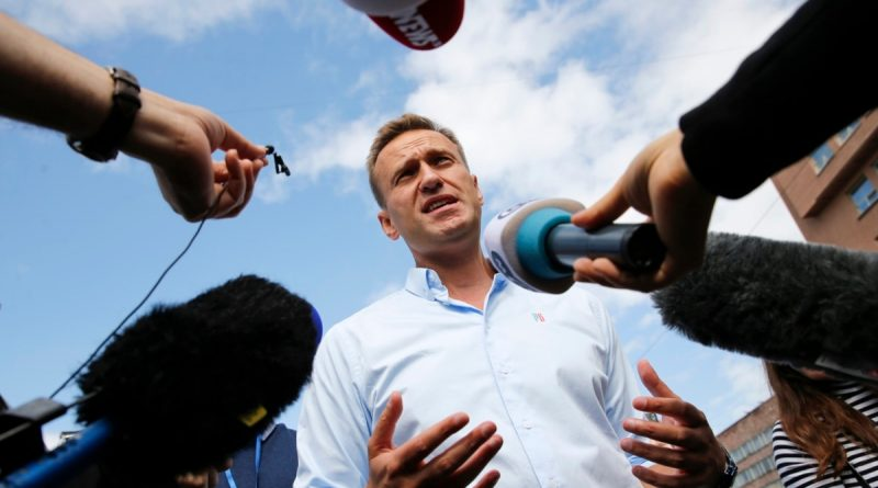 Alexey Navalny received the German award for his contribution to the defense of media freedom and freedom of speech