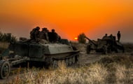 Artillery of the Armed Forces of Ukraine has worked out anti-tank defense