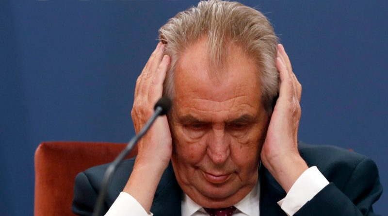 Doctors of the Czech President declared him incapacitated.  Parliament will consider the issue of the resignation of the politician