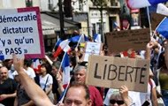 In France, 40 thousand people protested against COVID passes