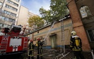 In Kiev, people were evacuated due to a fire on the territory of the Institute of Urology