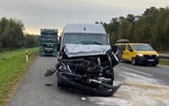 In Poland, a bus with Ukrainians got into an accident, four injured