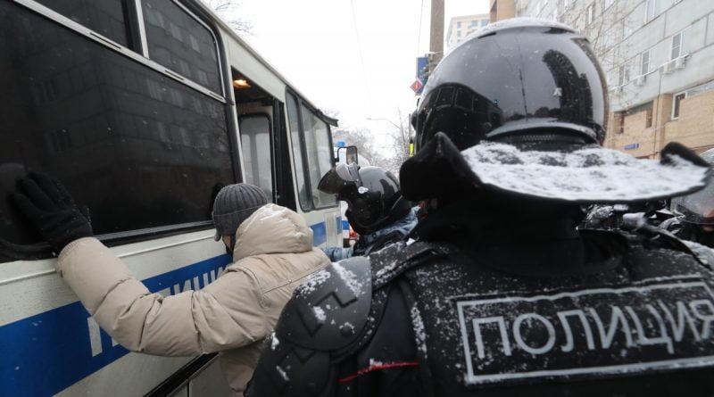 """In Russia, in six months of 2021, the courts considered more than 16 thousand cases under the """"rally"""" article, fines amounted to almost 150 million rubles"""