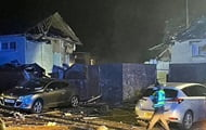 In Scotland, an explosion destroyed two residential buildings