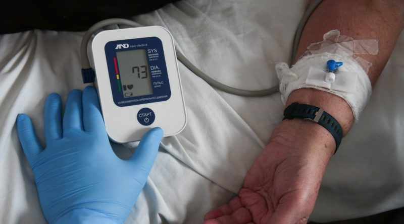 In Ukraine, almost 6 thousand patients with COVID-19 were hospitalized per day.  This is maximum