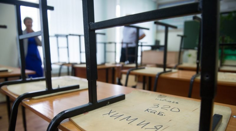 In the Perm Territory, a teenager was detained, who shot at the wall and ceiling of the school.  No injured