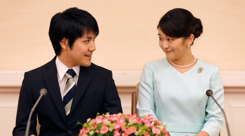 Japanese princess lost status due to her marriage to a commoner