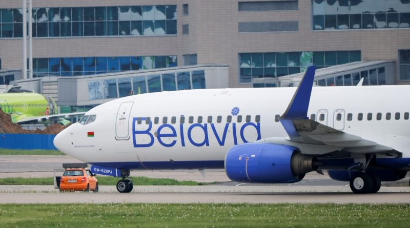 Latvia urged the EU to impose sanctions against Belavia and Belarusian travel companies for transporting migrants