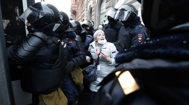 More than 2 million rubles were collected from five Chelyabinsk activists for police work at protests in support of Navalny