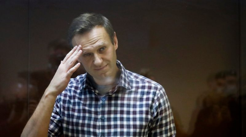 Navalny entered the top three contenders for the Sakharov Prize
