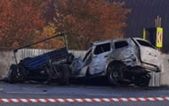 Near Mukachevo, four people died in an accident with a tow truck