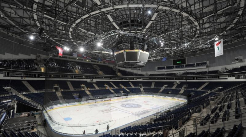 Protocols were drawn up against residents of Grodno: they did not stand up during the performance of the anthem of Belarus at a hockey match