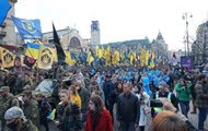 Results 14.10: March in Kiev and a visit to Donbass