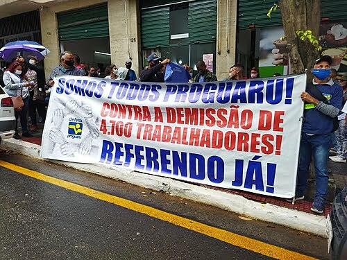 SP: Strike against extinction of state-owned Proguaru is suspended after 25 days;  see next steps