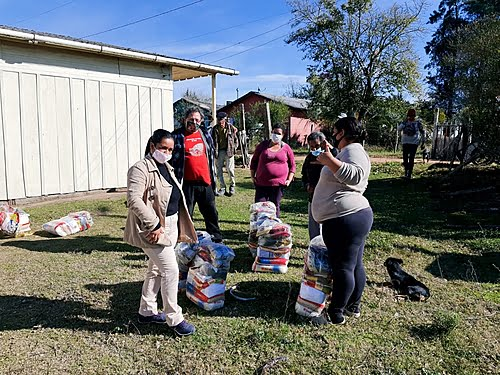 Solidarity campaign donates 11 tons of food to vulnerable families in RS and MS