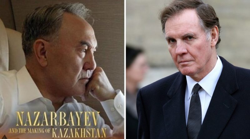 The British author of a book about Nazarbayev secretly received a fee for it from a PR company that serves the Kazakh authorities