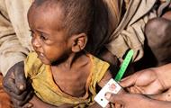 The UN announced the famine in Madagascar