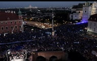 Thousands of Poles rally in support of Poland's membership in the EU