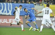 Ukraine missed out on victory over Bosnia and Herzegovina