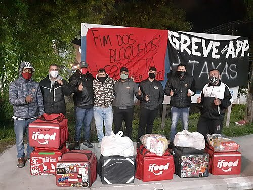 """""""We won't give in until iFood manifests"""": deliverymen from Atibaia take the baton from strikes"""