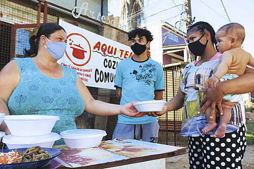 With the return of poverty, collective efforts against hunger spread throughout Rio Grande do Sul