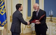Zelensky presented the Order of the State to the Scriabin family